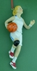 Item # 483750 - Girl Basketball Christmas Ornament