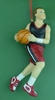 Item # 483751 - Boy Basketball Christmas Ornament