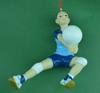 Item # 483752 - Girl Volleyball Christmas Ornament