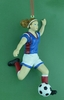 Item # 483753 - Girl Soccer Christmas Ornament