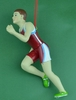 Item # 483755 - Boy Runner Christmas Ornament