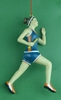 Item # 483756 - Girl Runner Christmas Ornament