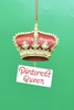 Item # 483764 - Pinterest Queen Ornament