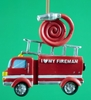 Item # 483766 - I Love My Fireman Christmas Ornament