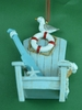 Item # 483772 - Adirondack Chair Christmas Ornament