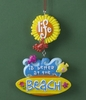 Item # 483783 - Life Is Better Beach Sign Christmas Ornament
