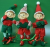 Item # 483800 - Red/Green/White Pixie Christmas Ornament