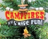 "Item # 483808 - 3"" Campfires Are S'more Fun Christmas Ornament"