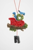 "Item # 483822 - 4.5"" Bird Watching Ornament"