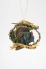 "Item # 483834 - 3"" Turkey Hunter Christmas Ornament"