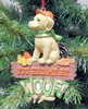 "Item # 483836 - 4"" Had At Me Woof Christmas Ornament"