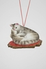 "Item # 483840 - 1.75"" Cat With Baby Christmas Ornament"