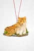 """Item # 483846 - 2.5"""" Tiger With Baby Ornament"""
