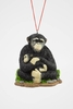 "Item # 483849 - 2.5"" Gorilla With Baby Christmas Ornament"