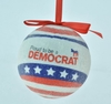 """Item # 483864 - 3"""" Proud To Be A Democrat Christmas Ornament"""