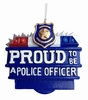 Item # 483867 - Proud To Be A Police Officer Christmas Ornament