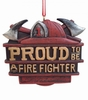 Item # 483868 - Proud To Be A Firefighter Christmas Ornament