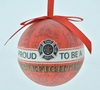 "Item # 483870 - 3"" Proud To Be A Firefighter Christmas Ornament"