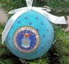 "Item # 483873 - 3"" Air Force Christmas Ornament"