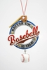 "Item # 483880 - 4.75"" Baseball Christmas Ornament"