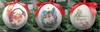 "Item # 483899 - 4"" Santa/Angel/Elf Ornament"