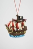 "Item # 483961 - 3.25"" Pirate Ship Christmas Ornament"