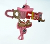 """Item # 483966 - 3.5"""" Resin Pink Cowgirl Christmas Ornament"""