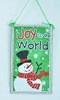 "Item # 483998 - 7"" Joy To The World Snowman Ornament"