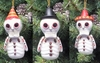"Item # 501070 - Resin Day of the Dead ""Dead-Look"" Christmas Ornament"