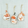 Item # 509024 - University of Tennessee Volunteers Snowman Ornament