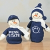 Item # 509070 - Penn State University Nittany Lions Snowman Stretch Christmas Ornament