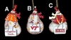Item # 509097 - Virginia Tech Hokies Snowman Ornament
