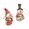 Item # 509337 - University of Alabama Crimson Tide Snowman Ornament