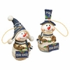 Item # 509342 - Penn State University Nittany Lions Snowman Ornament