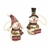 Item # 509343 - University of South Carolina Gamecocks Snowman Ornament