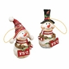 Item # 509344 - Florida State University Seminoles Snowman Christmas Ornament