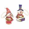Item # 509345 - University of Florida Gators Snowman Christmas Ornament
