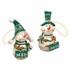 Item # 509347 - Michigan State University Spartans Snowman Ornament