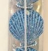 Item # 516295 - Blue Clam Shell Ornament