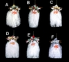Item # 518005 - Flowing Glitter Beard Santa Head Ornament