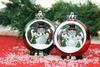 Item # 518012 - LED Snowman Scene Ornament
