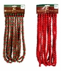 Item # 518021 - 18 Foot Long Red & Green/Bright Red Wooden Bead Garland