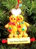 Item # 525119 - Gingerbread Couple Christmas Ornament