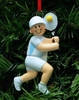 Item # 525136 - Boy Tennis Christmas Ornament