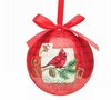 Item # 527006 - Country Cardinal Ball Ornament