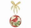 Item # 527009 - Christmas Cardinal Disc Ornament