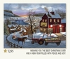 Item # 552025 - Tractor Santa House Christmas Cards