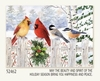 Item # 552051 - Fence Friends Christmas Cards