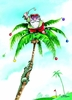 Item # 552072 - Santa/Golf/Palm Tree Christmas Cards