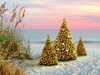 Item # 552105 - Trees On Beach Christmas Cards